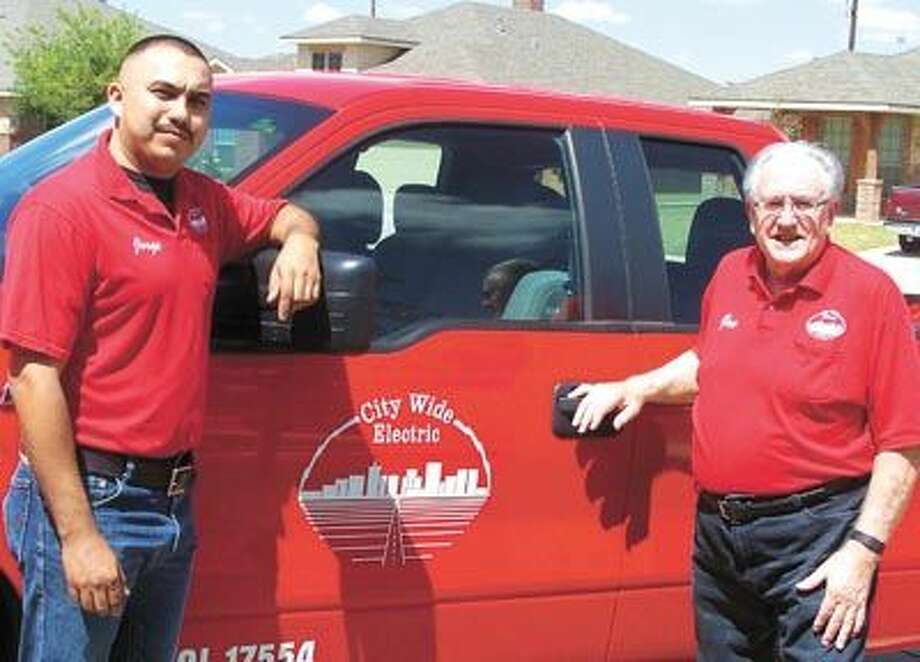 For electrical work of any kind call Joe Fussell or Jorge Mendoza at 697-6456.