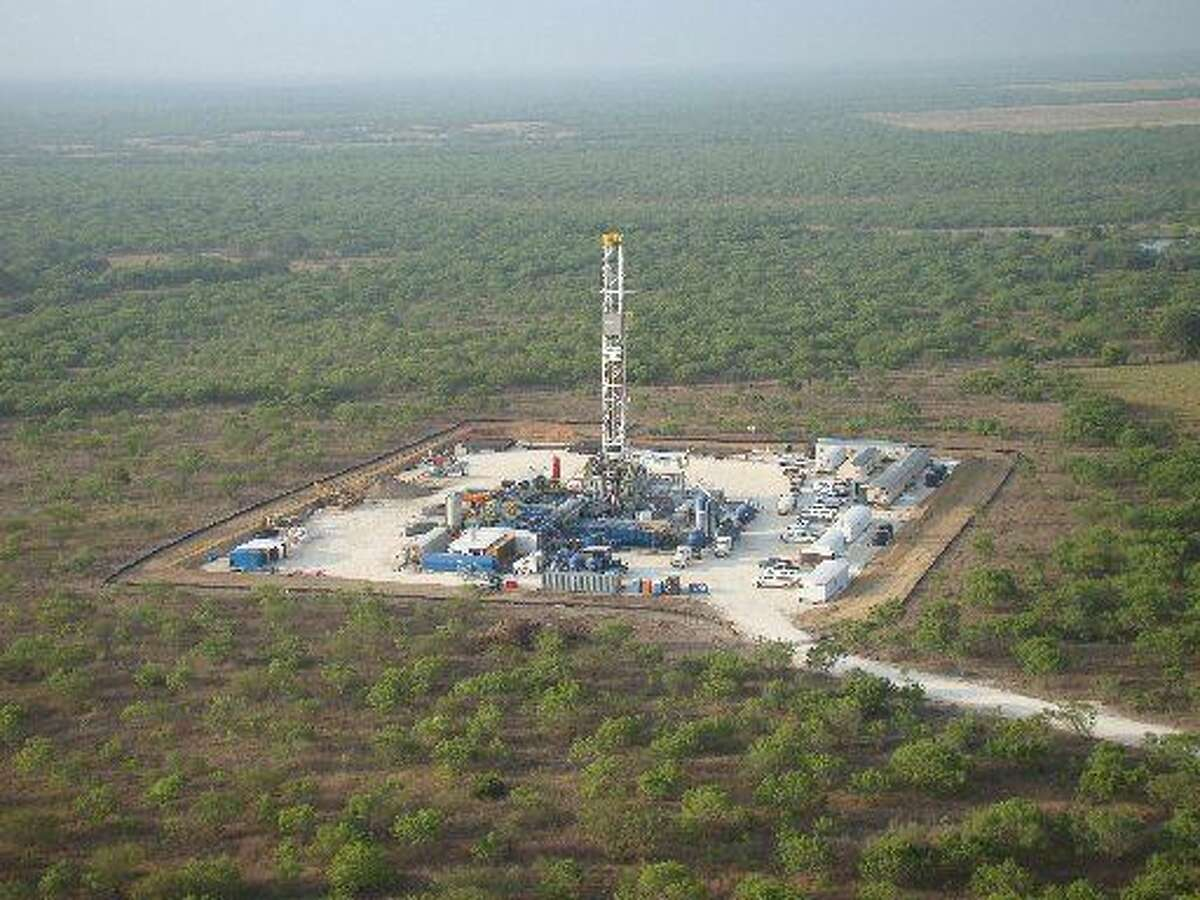 Drilling atMarathonOilCorp.'s operations in the Eagle Ford Shale formation in South Texas. (Photo courtesy ofMarathonOil)