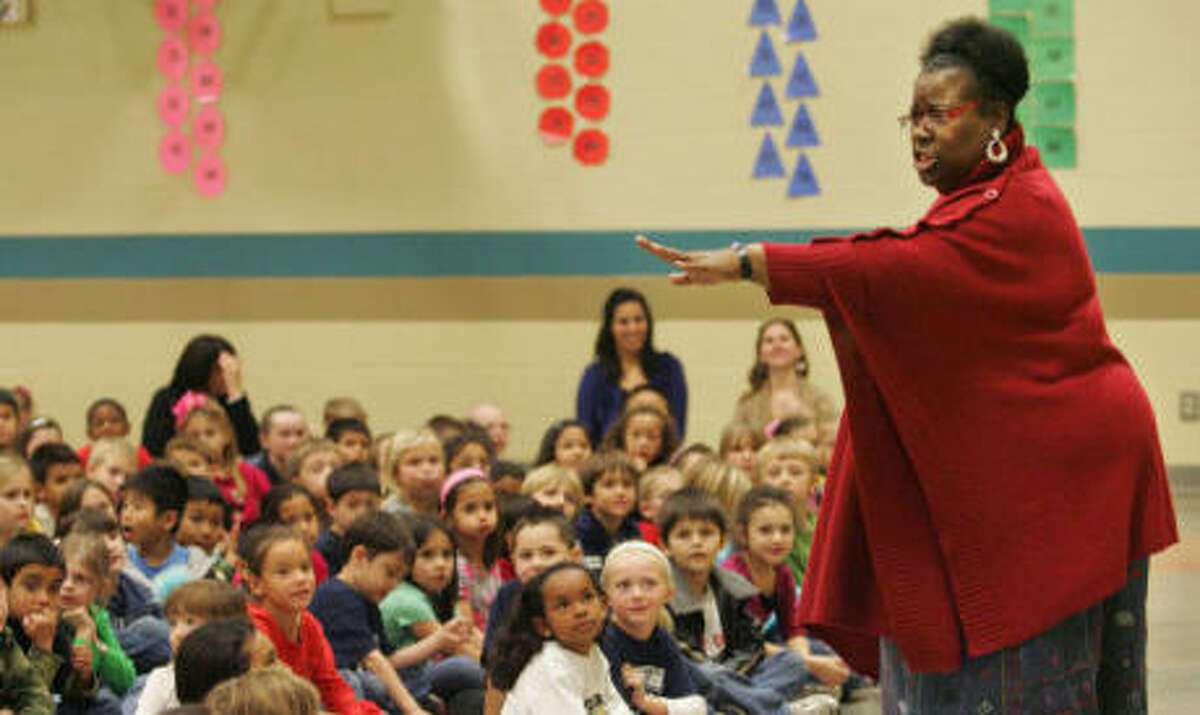 Storyteller Sue Roseberry performing African American folk stories, 11 a.m. Saturday at Midland County Public Library Centennial branch. www.co.midland.tx.us/lib