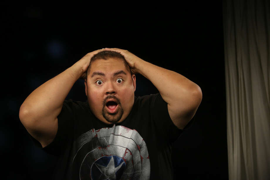 """In this Tuesday, July 15, 2014 photo, actor, Gabriel J. Iglecias, known professionally as Gabriel """"Fluffy"""" Iglesias, poses for a photo in Los Angeles. Iglesias' new comedy, """"The Fluffy Movie,"""" opens on July 25, 2014. (AP Photo/Nick Ut) Photo: Nick Ut"""