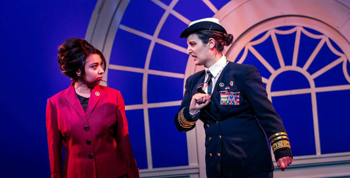 The classic opera is set in 1960s White House in an administration similar to President John F. Kennedy's.