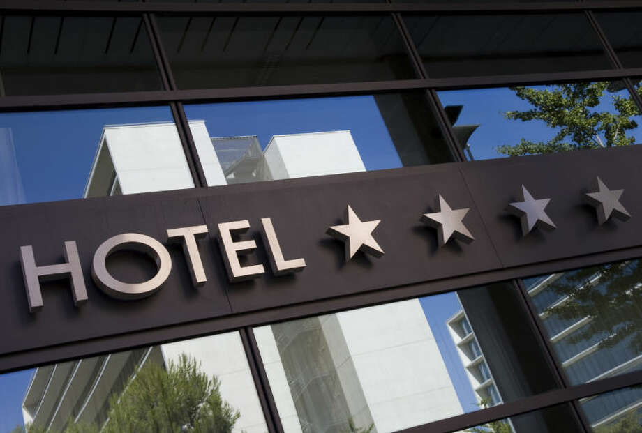 Average cost of hotels in cities throughout Texas.