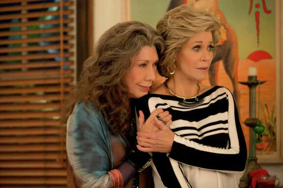 The bond between Grace (Jane Fonda) and Frankie (Lily Tomlin) becomes deeper in season two of 'Grace and Frankie' on Netflix.