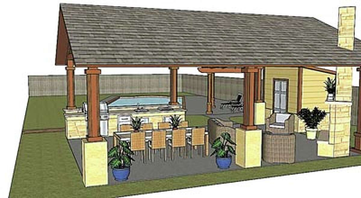 Taste meets taste buds in your own uniquely designed outdoor kitchen from American Home Improvement.