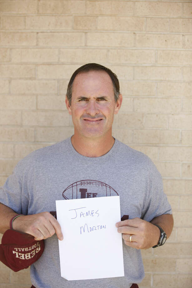 Lee High football mug head coach James Morton James Durbin/Reporter-Telegram Photo: James Durbin