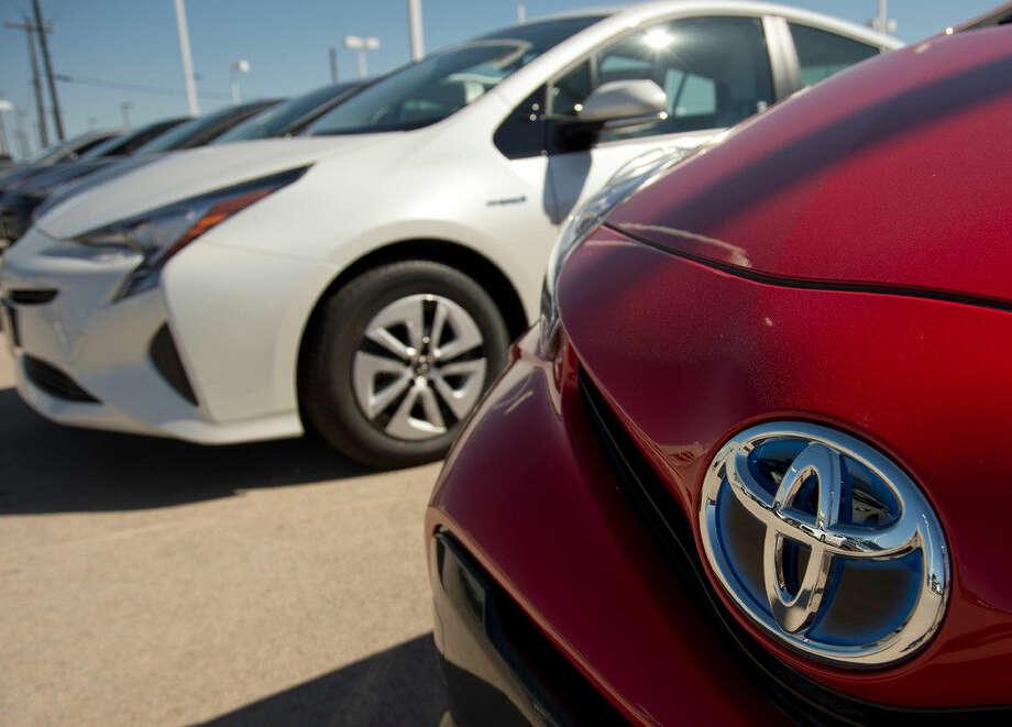 Toyota Prius at Toyota of Midland Friday 04-22-16 Tim Fischer\Reporter-Telegram