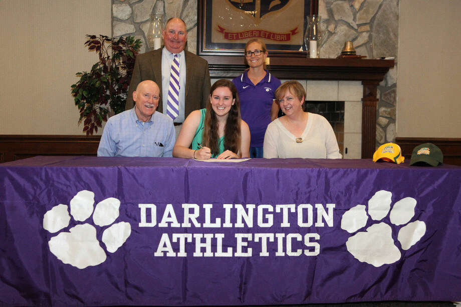 Midland's Hollis Grigsby, attending Darlington School in Rome, Ga., has signed a letter-of-intent to row crew for George Mason University next year. Courtesy photo Photo: Courtesy Photo