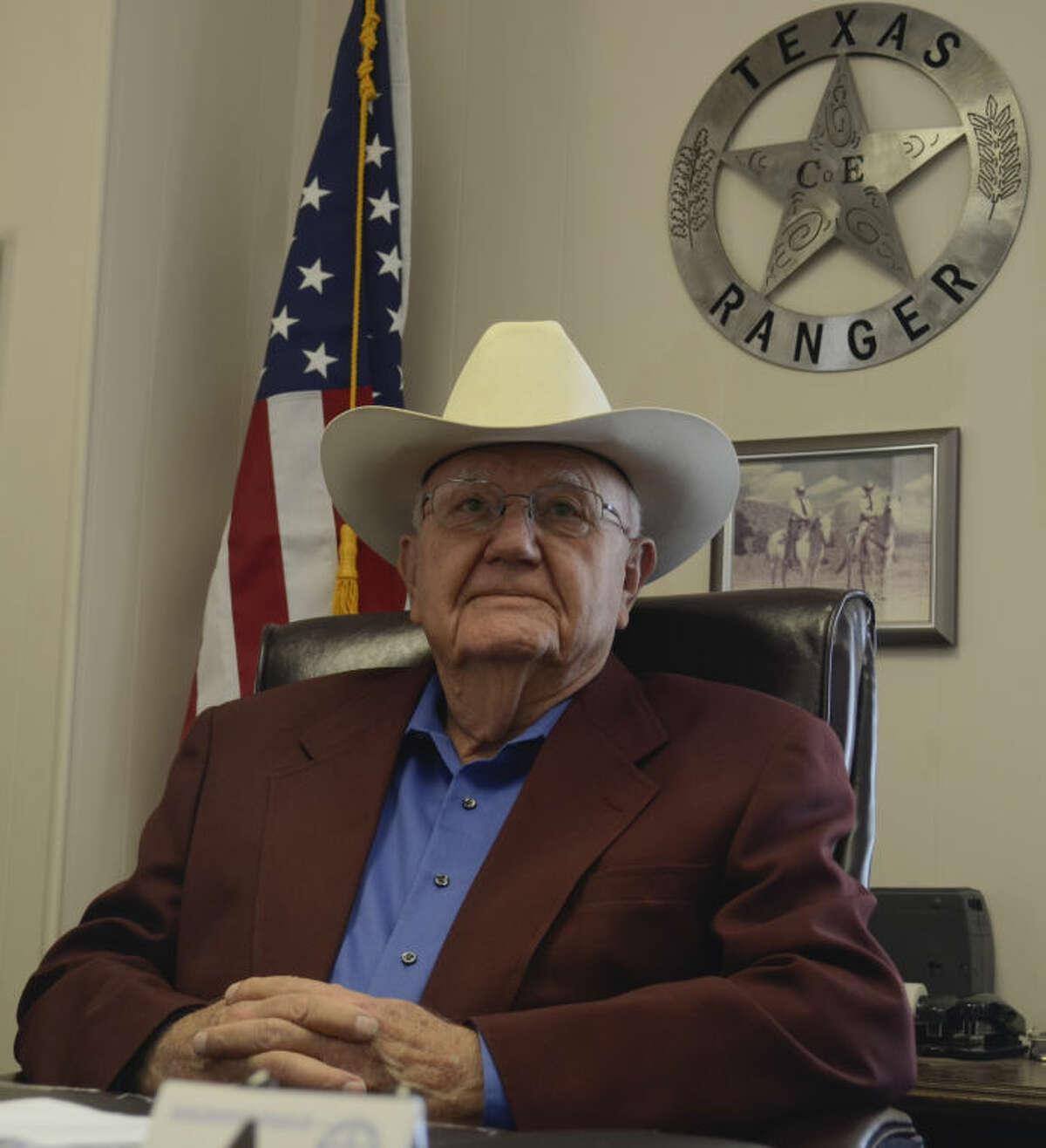 Al Mitchell, retired Texas Ranger. Tim Fischer\Reporter-Telegram