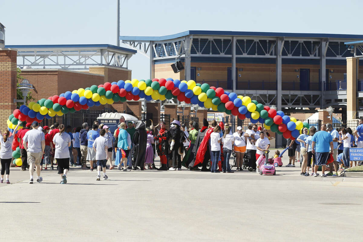 Annual SHARE Autism Walk on Saturday, April 25, 2015, at the Scharbauer Sports Complex. James Durbin/Reporter-Telegram