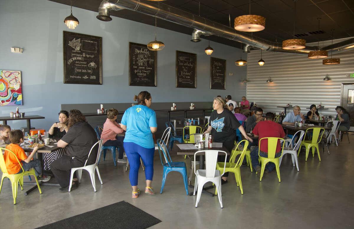 The new Lori's Cafe is open Monday 04-04-16. Tim Fischer\Reporter-Telegram