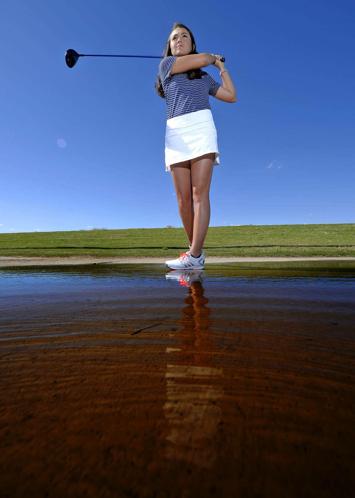 Greenwood golfer Ryan Pate in portrait Thursday, April 21, 2016, at Hogan Park Golf Course. James Durbin/Reporter-Telegram