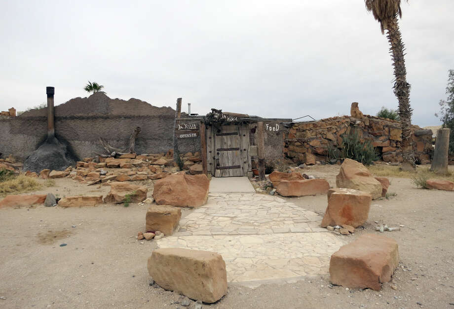 "La Kiva Bar is closed. Terlingua locals don't know whether their ""living room"" will ever reopen. Photo: Joe Holley"