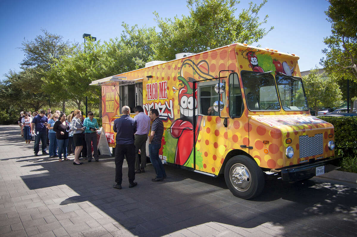 Food truck parks can create a community space for folks looking to grab a quick bite during lunch hour or dinnertime.
