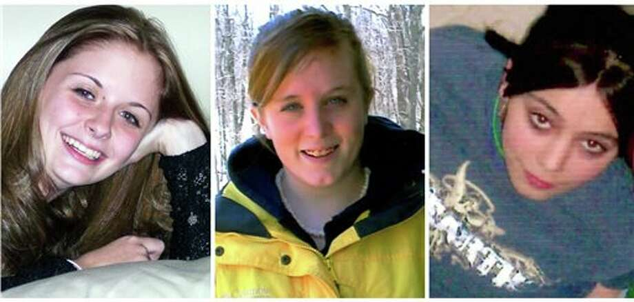 This combination of undated family photos shows, from left, Amber Marie Rose, Natasha Weigel, and Amy Rademaker. All three were killed in deadly car crashes involving GM's Cobalt during 2005-2006. The complaint tally for the top-selling small cars in the 2005-2007 model years was: Corolla, 228; Cobalt, 164; Honda Civic, 60; Ford Focus, 25; and the Mazda 3, 19. (AP Photo) Photo: Uncredited / Family Handout