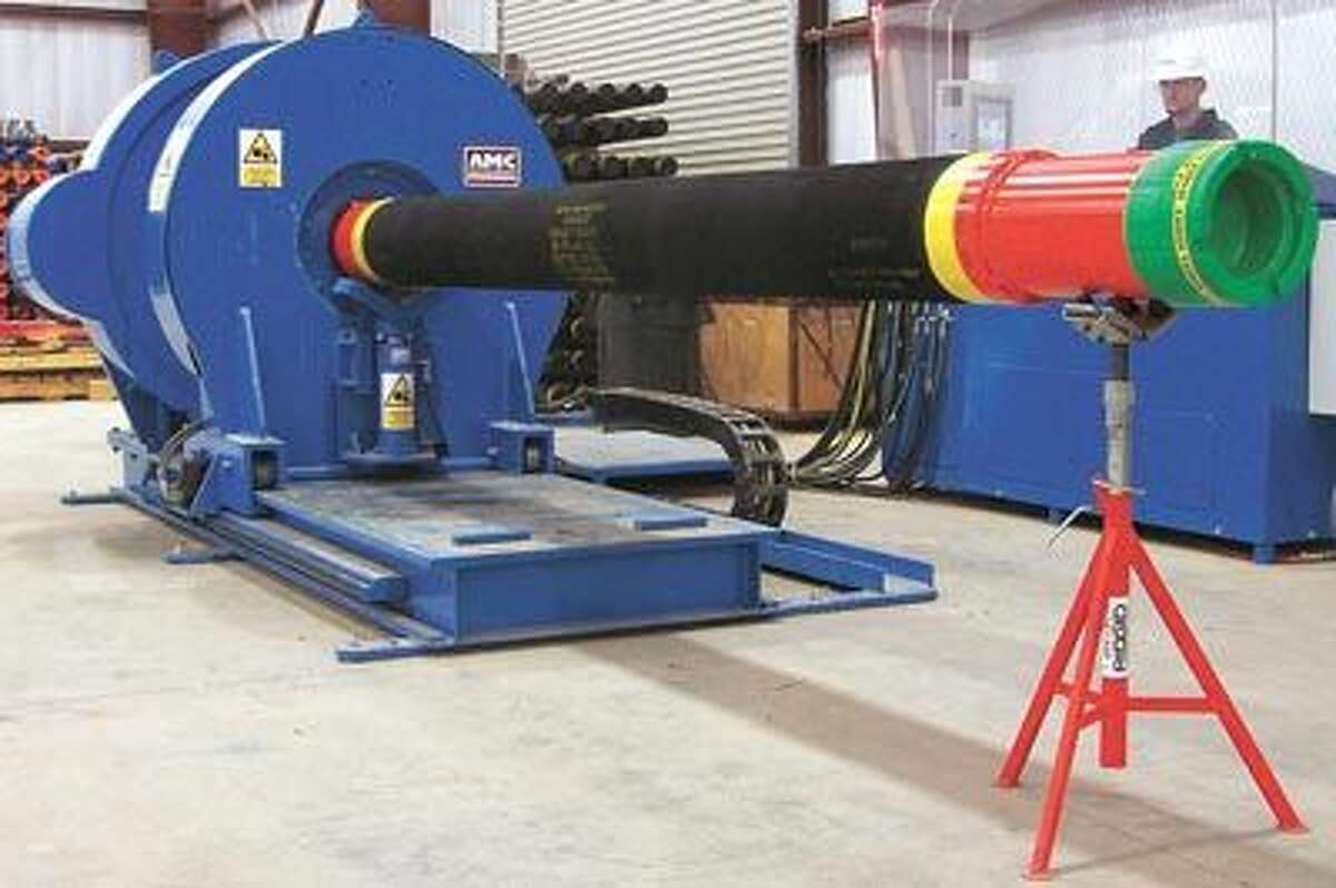 Utilizing an in-house torque machine, TAM charts and records all makeup and breakout connections to customer specifications. Call TAM at 432-250-6024.