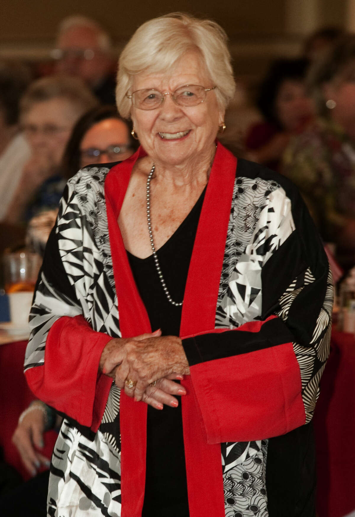 Judge Barbara Culver Clack, retired, is honored Wednesday, 5-13-15, by the Midland County Republican Women. Tim Fischer\Reporter-Telegram