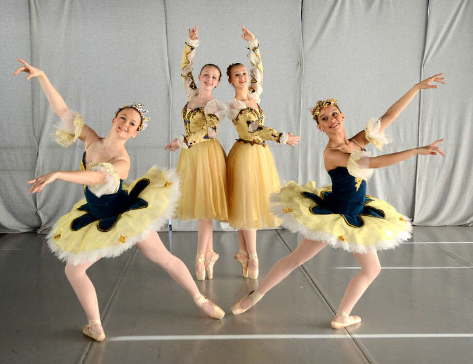"Rehearsal photos for the Midland Festival Ballet production ""Sleeping Beauty."" James Durbin/Reporter-Telegram Photo: JAMES DURBIN"