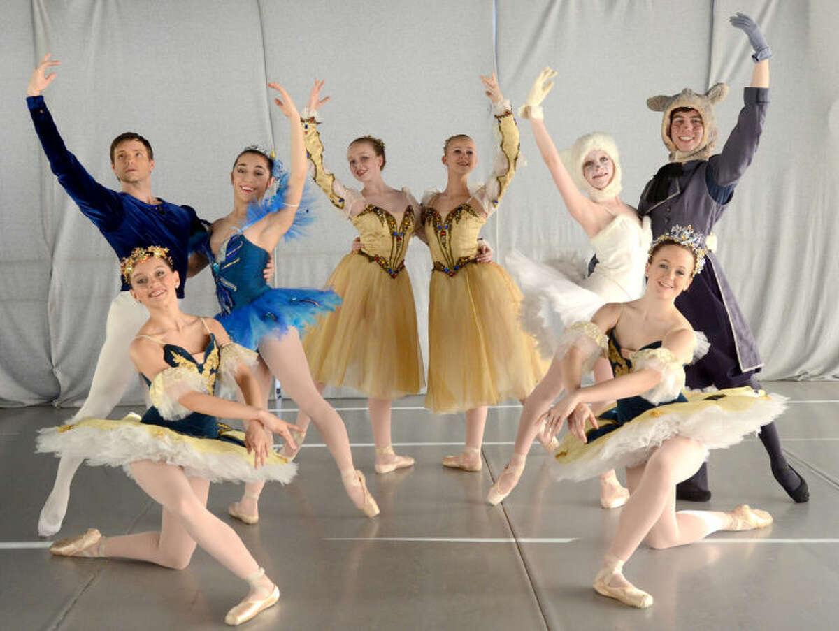 Rehearsal photos for the Midland Festival Ballet production