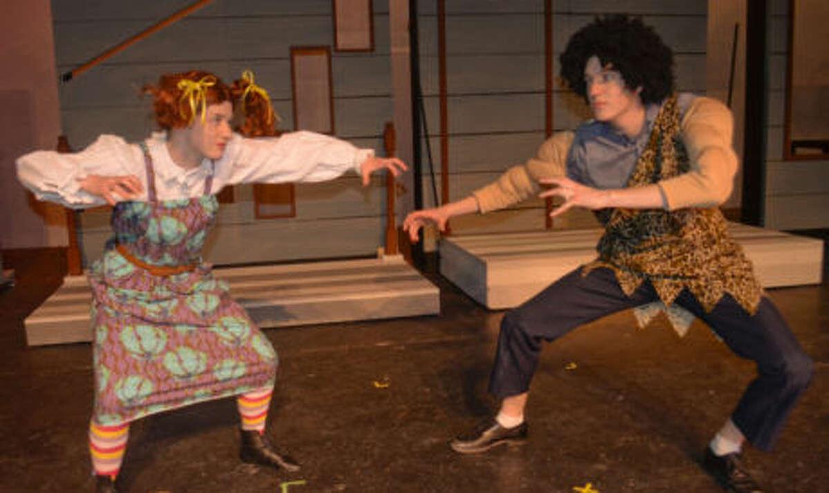 """Pippi Longstocking,"" Friday through April 12 at Midland Community Theatre. mctmidland.org."