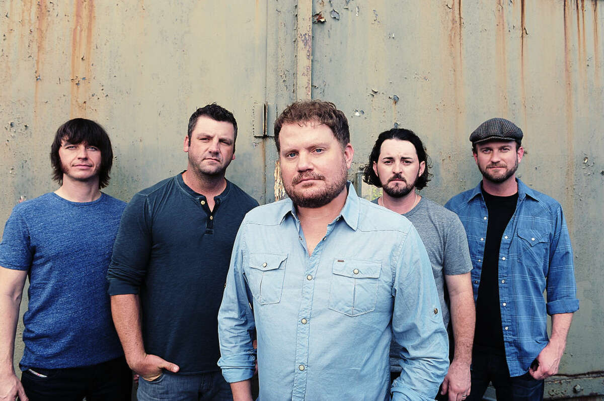 Midland-raised Les Lawless, second from left, returns to his hometown when the band plays Crudefest.