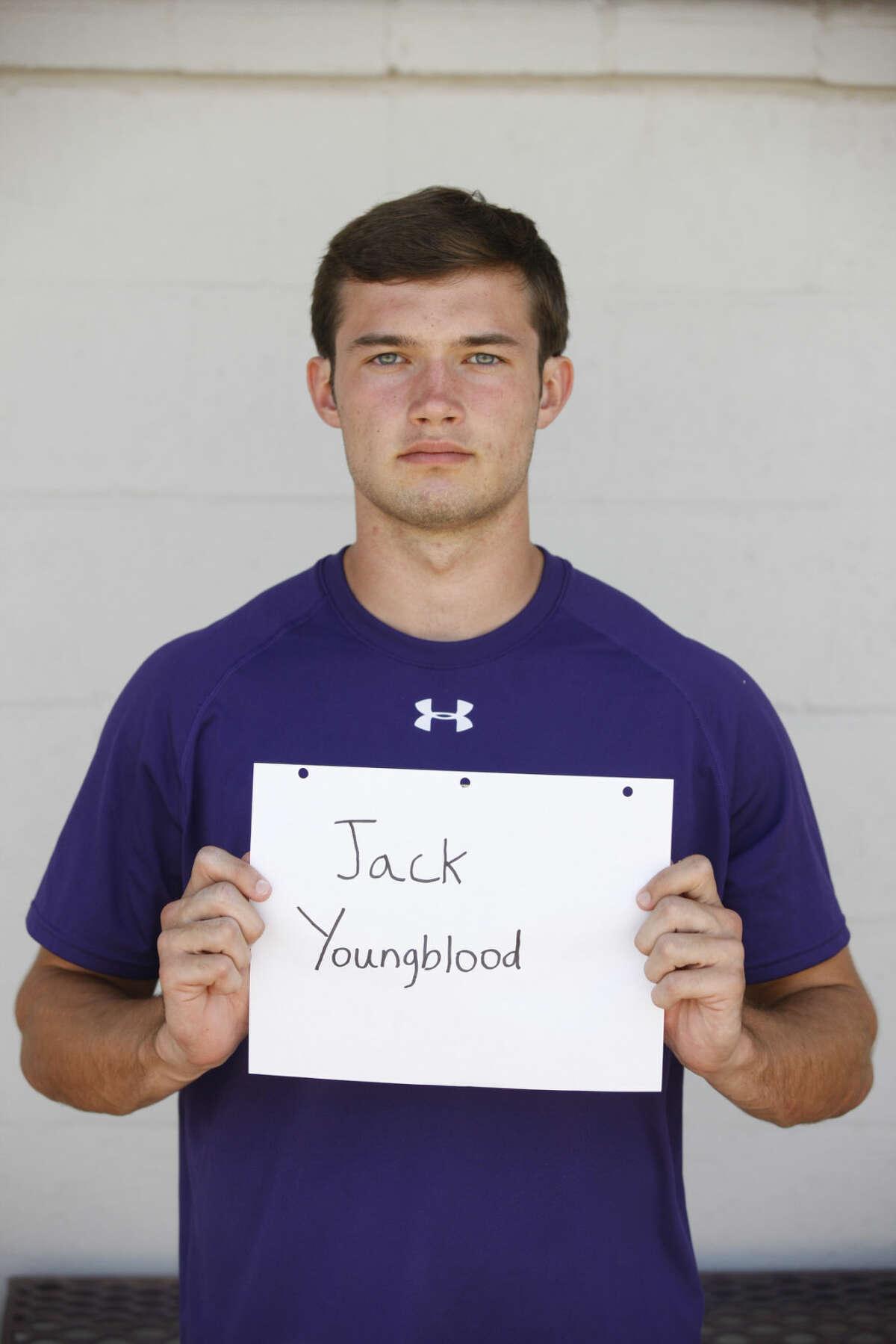 Midland High Varsity Football mug Jack Youngblood