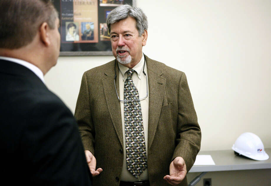 Anthony Frost will be the new MISD Petroleum Academy coordinator. Frost was introduced during a press conference Thursday, May 21, 2015 at the Midland County Public Library Centennial Branch.  Photo: James Durbin/Reporter-Telegram