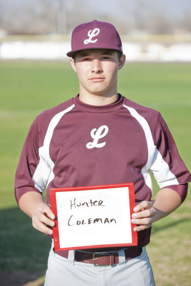 Mug shot of Lee baseball player Hunter Coleman James Durbin/Reporter-Telegram Photo: JAMES DURBIN