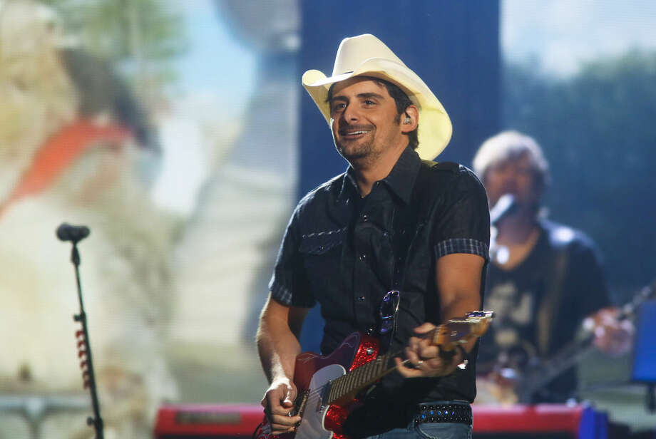 Brad Paisley performs May 2 at the iHeartRadio Country Festival held at the Frank Erwin Center in Austin. Paisley is one of the headliners for Gardendale's Texas Thunder Fest in August. Photo: Jack Plunkett