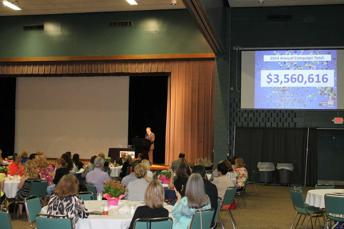 United Way of Midland hosted its annual celebration and awards luncheon Wednesday at Midland Center. More than $3.5 million was raised for local nonprofits.