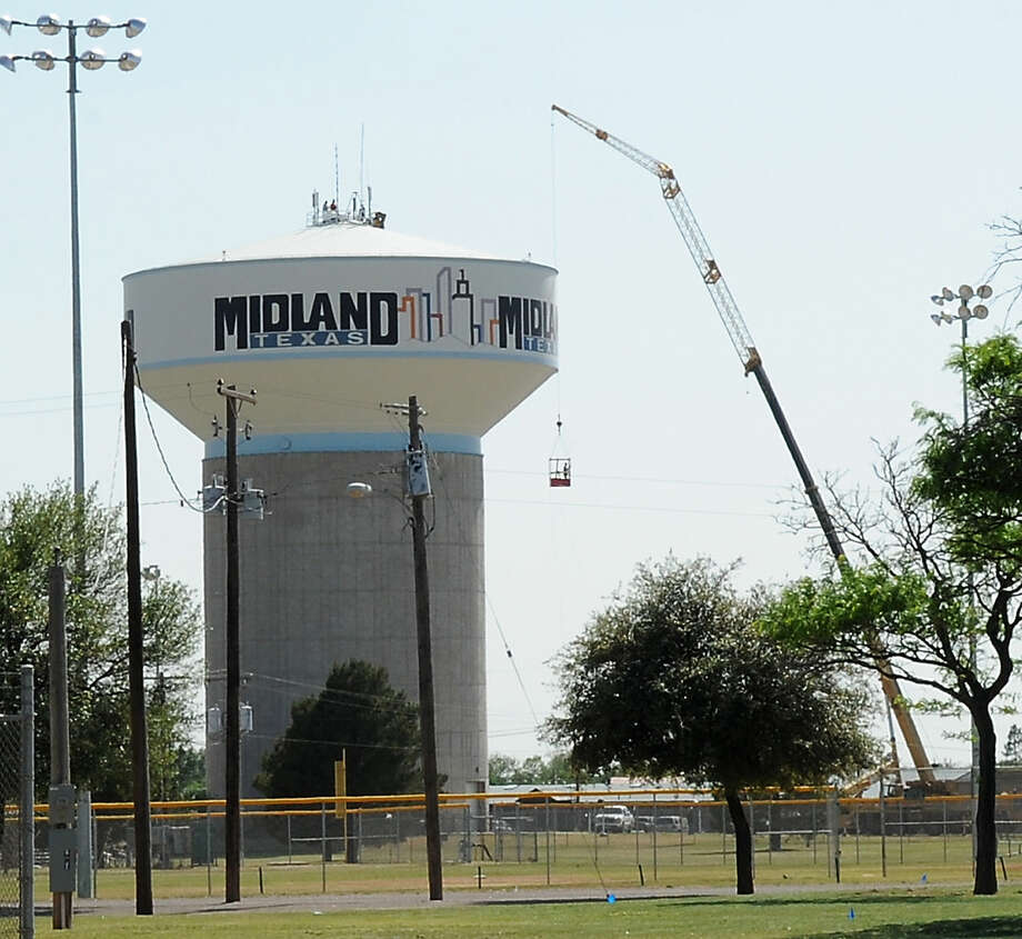City of Midland water tower by Hogan Park