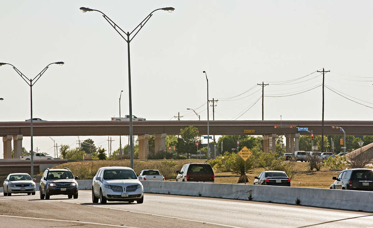The Midland Police Department released their statistics showing that the intersections at Andrews Highway and Loop 250 have had the most accidents so far in 2015. Photographed Wednesday, April 29, 2015. James Durbin/Reporter-Telegram