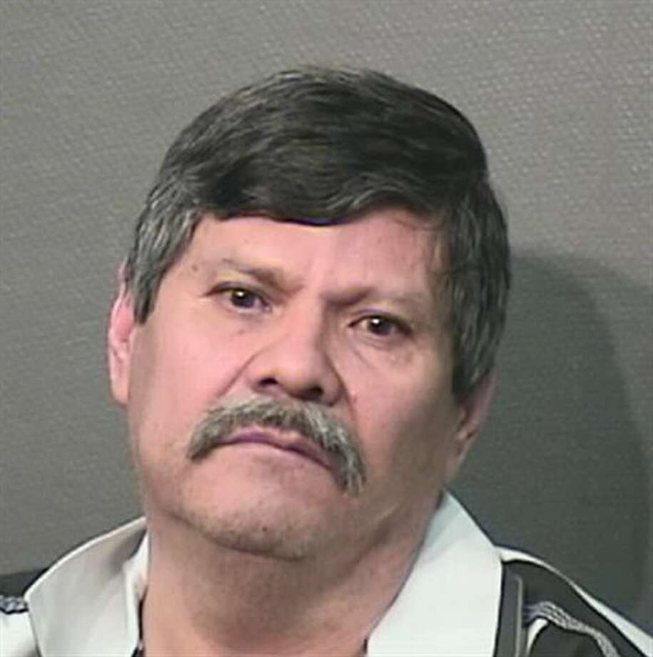 This booking photo provided by the Houston Police Department on Wednesday, April 23, 2014, shows Guillermo Correa. Police say, Correa, 56, a resident of a Houston nursing home will face capital murder charges for using the armrest of his wheelchair to beat two of his roommates to death. (AP Photo/Houston Police Department) Photo: HOPD / Houston Police Department