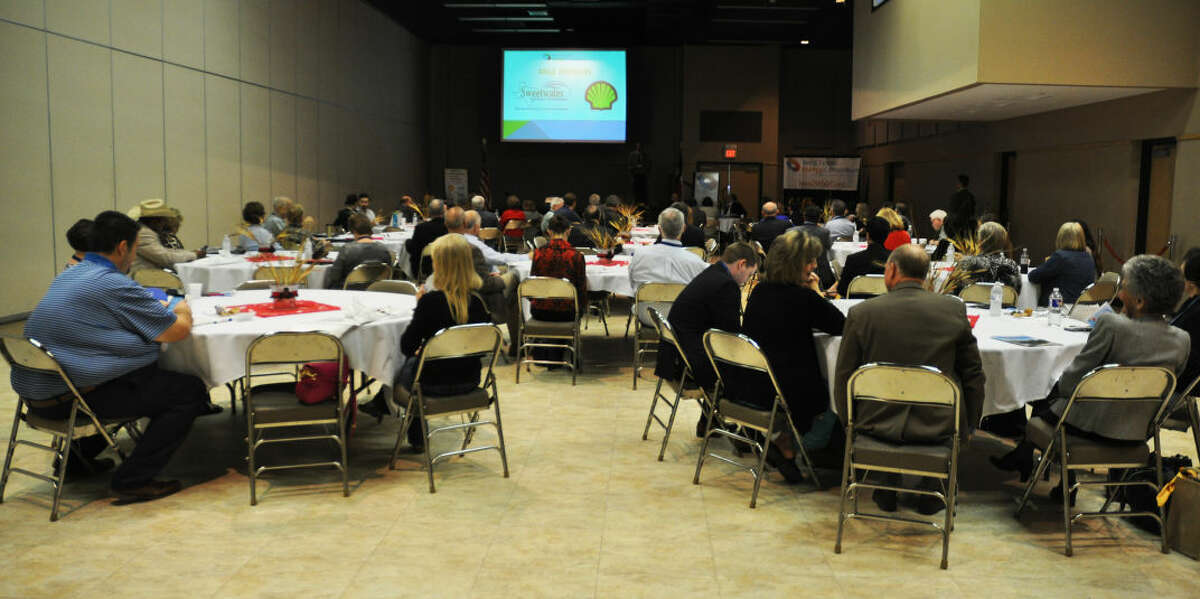 The West Texas Energy Consortium held an oil and gas conference Thursday at McNease convention center in San Angelo.