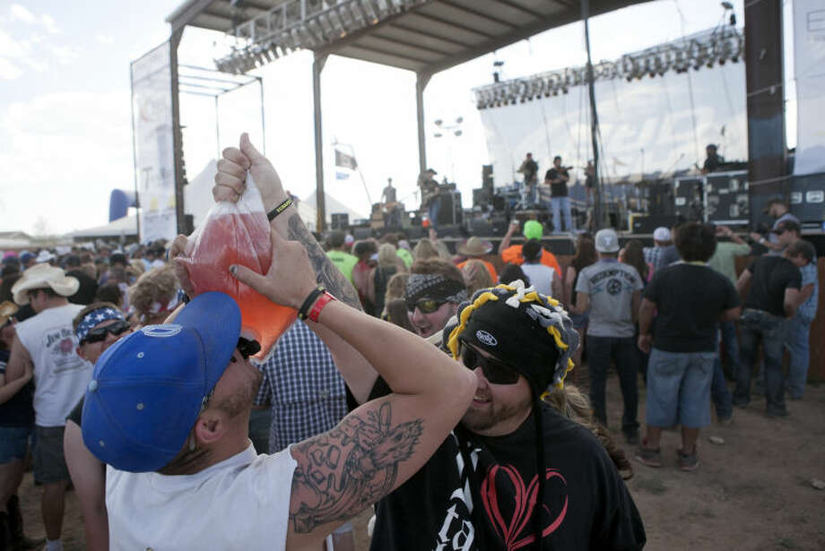 Crudefest Music Festival on Friday at Star of Texas Ranch. James Durbin/Reporter-Telegram Photo: JAMES DURBIN