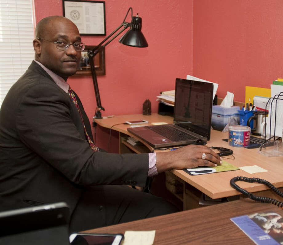 John Love III, newest Midland City Councilman and operator of PaperWerks. Tim Fischer\Reporter-Telegram Photo: Tim Fischer