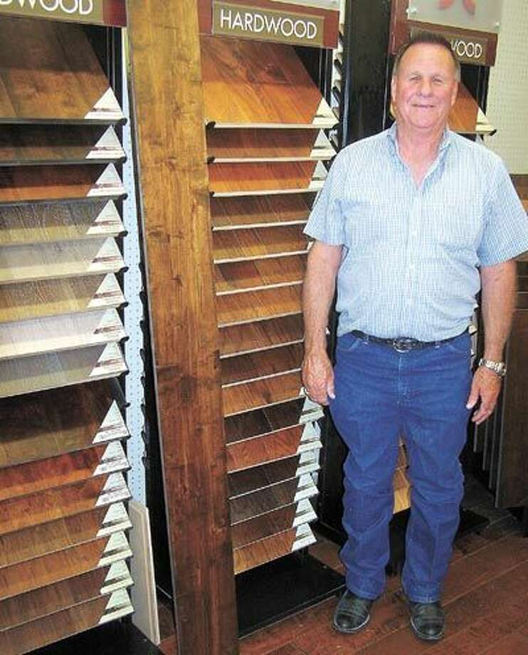 Travis Kendrick at Southwest Floors invites you to inspect their Cross Mountain Collection display and imagine how this hand-scraped real wood flooring can make the statement you want in your home. Southwest Floors is at 1113 Andrews Highway.