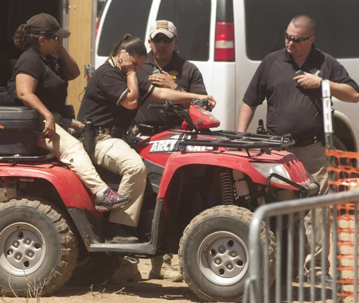 In this file photo of a past Crude Festsecurity/police at Crude Fest travel on foot and ATV to make their way around the venue. Photo by Tim Fischer/Midland Reporter-Telegram
