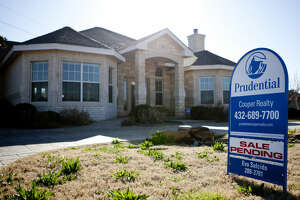 Home for sale in the Green Tree neighborhood, photographed Feb. 27, 2014. James Durbin/Reporter-Telegram