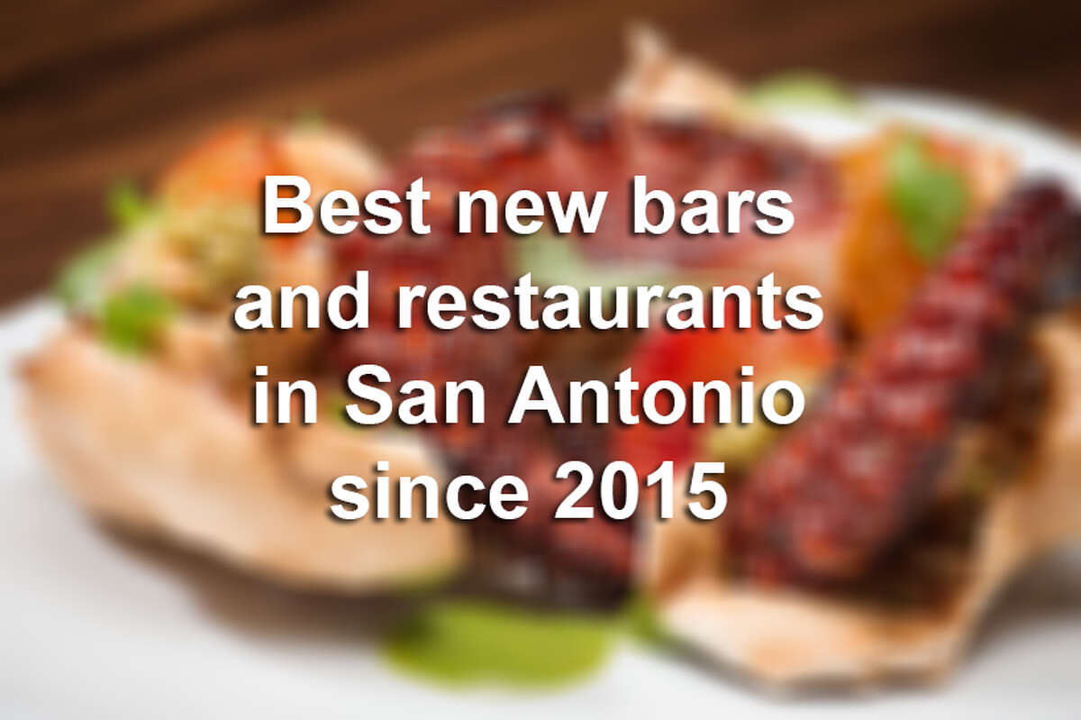 These are the top 19 bars and restaurants that have opened their doors in San Antonio since 2015. Check out the full list of San Antonio's Top 100 Dining & Drinks at ExpressNews.com.