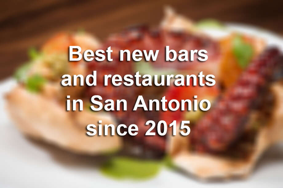 These are the top 19 bars and restaurants that have opened their doors in San Antonio since 2015. Check out the full list of San Antonio's Top 100 Dining & Drinks at ExpressNews.com. Photo: Courtesy Photo/Nao Latin Gastro Bar