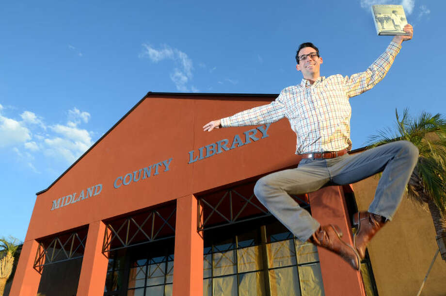 Edward McPherson, the Education and Program coordinator for Midland County Public Libraries,is leaving Midland to become the executive director of a ballet company in Rhode Island. James Durbin/Reporter-Telegram Photo: JAMES DURBIN