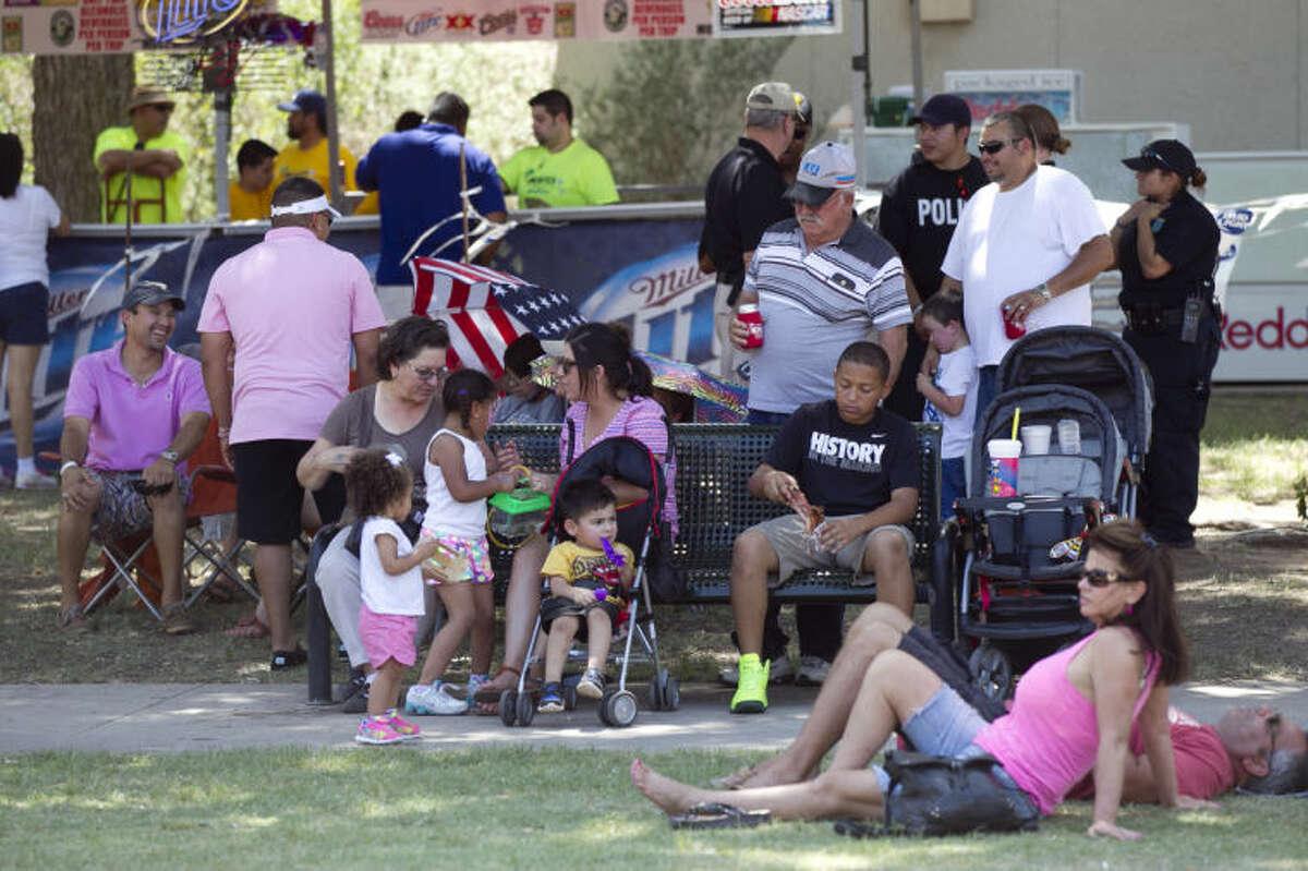 27th Annual Mex Tex Family Fiesta on Saturday at Centennial Plaza. James Durbin/Reporter-Telegram