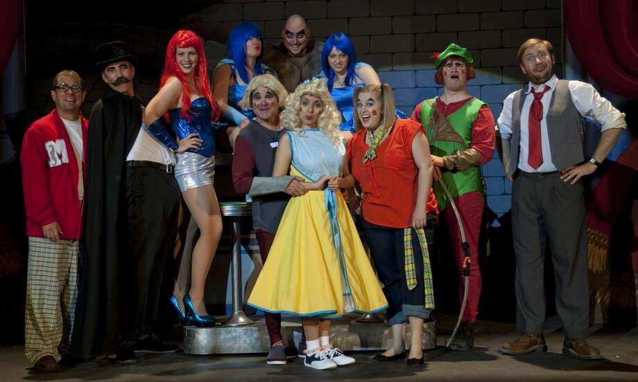 Summer Mummers Melodrama cast. Tuesday, 6-2-15. Tim Fischer\Reporter-Telegram Photo: Tim Fischer