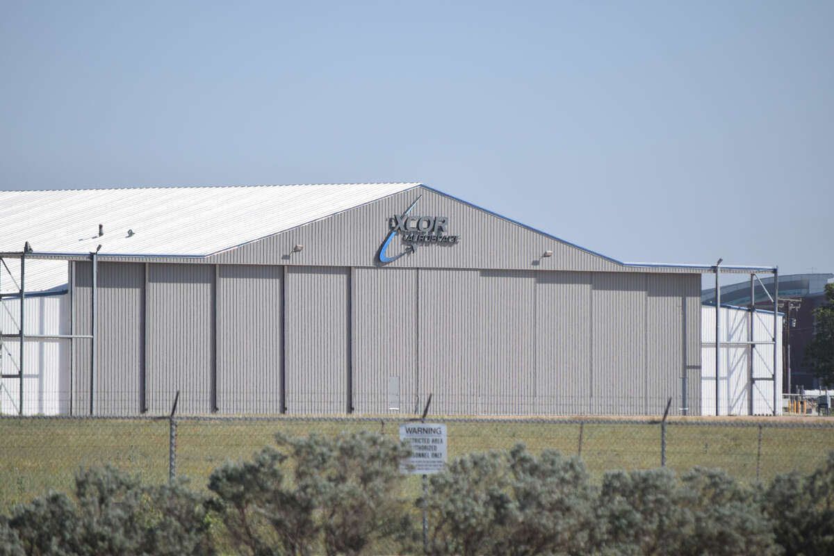 XCOR's building at Midland International Air & Space Port