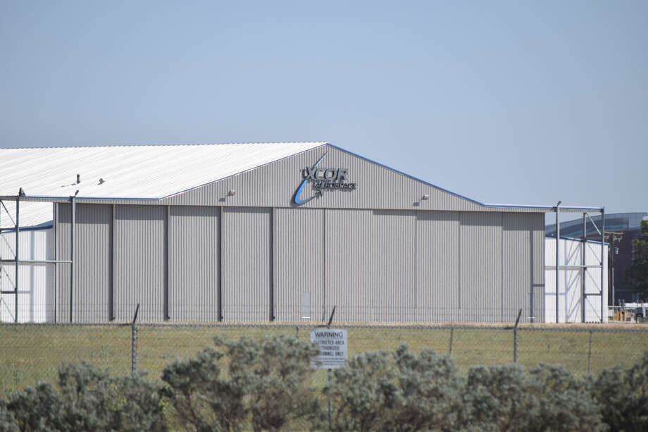 XCOR's building at Midland International Air & Space Port Photo: Rye Druzin/Reporter-Telegram