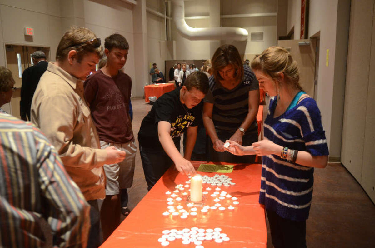 Christ Church Anglican youth group offers an interactive Stations of the Cross service.