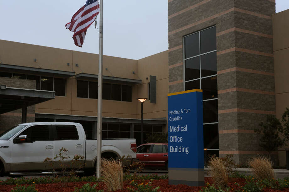 The Nadine and Tom Craddick Medical Office Building at Midland Memorial Hospital.  Tim Fischer/Reporter-Telegram Photo: Tim Fischer