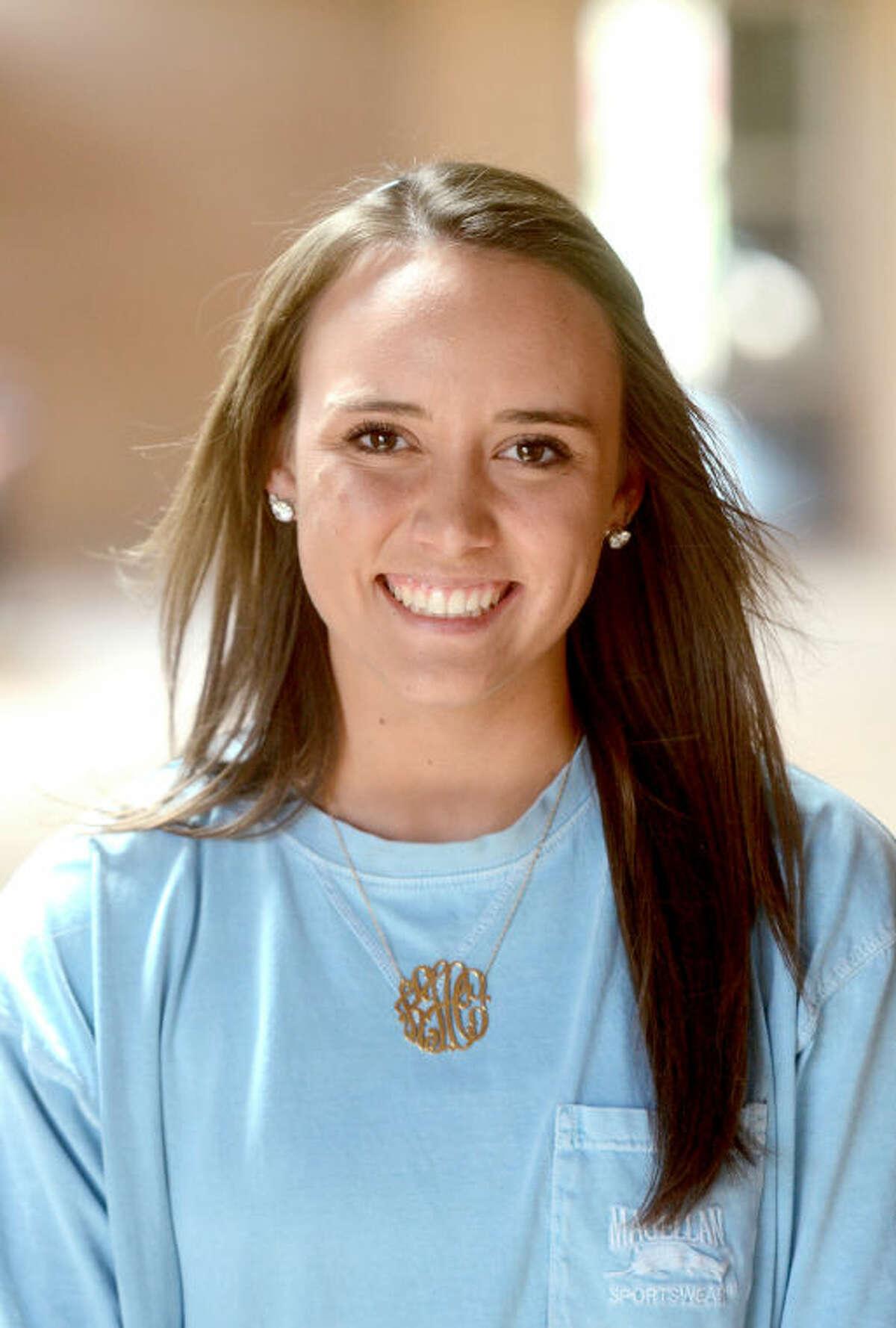 Kaitlin Hendrick of Odessa is the senior Valedictorian at Trinity School. James Durbin/Reporter-Telegram