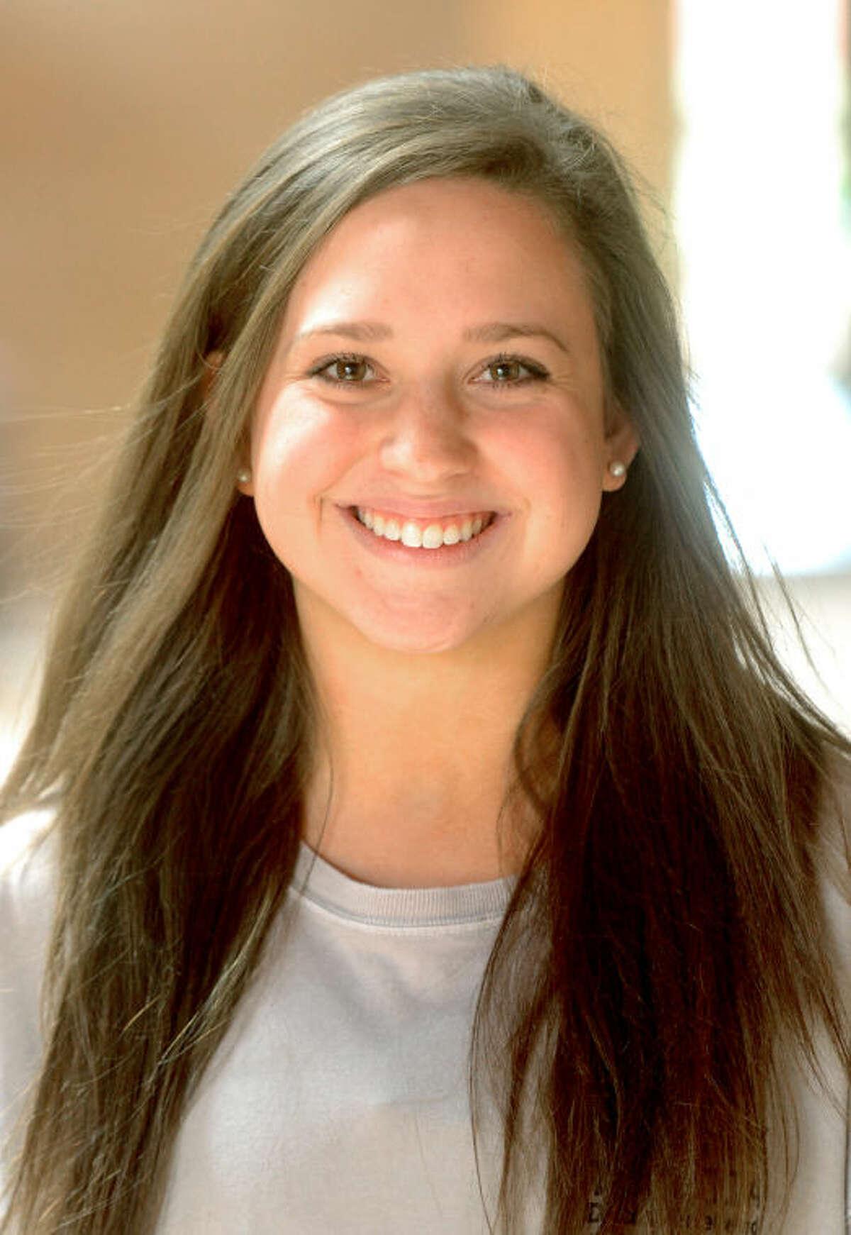 Alaina Carter is the senior Salutatorian at Trinity School. James Durbin/Reporter-Telegram