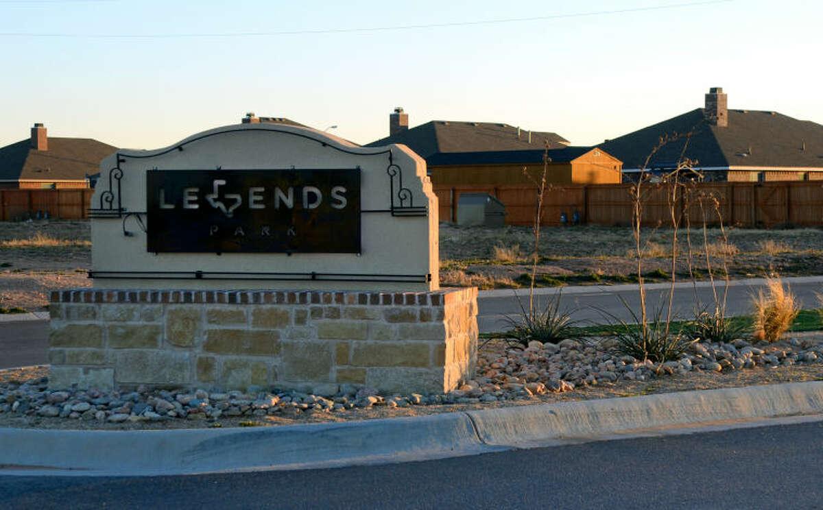 Legends Park housing development near CitiBank Ball Park. James Durbin/Reporter-Telegram